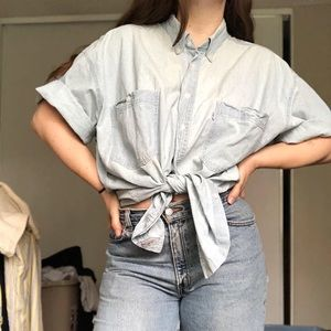 Oversized Levi's Button Up